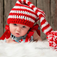 Elf, Elf Hat, Baby Elf Hat, Baby, Christmas Elf Hat, Hat, Beanie, Christmas Gift, Holiday, Costume, Photo Prop, Photography Prop