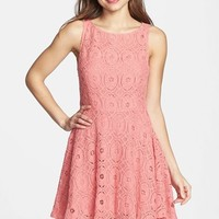 Women's BB Dakota 'Renley' Lace Fit & Flare Dress (Nordstrom Exclusive)