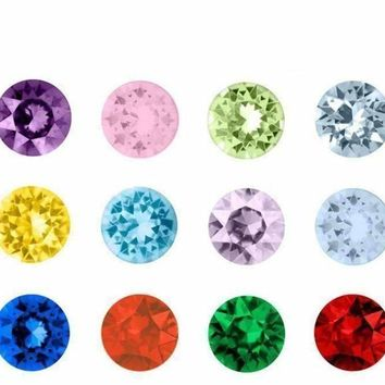 Floating Accent Crystals for Story of My Life Charm Lockets 5mm - 12 Colors to Choose!!