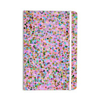 """Vasare Nar """"Candy Pink Confetti"""" Pastel Abstract Everything Notebook"""