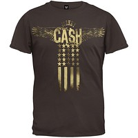 Johnny Cash - Wings Soft T-Shirt
