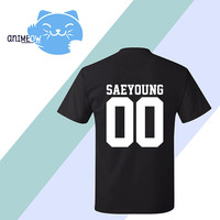Saeyoung Mystic Messenger Inspired Game Jersey Style T-Shirt