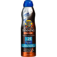 Protective Tanning Dry Oil Continuous Spray Sunscreen