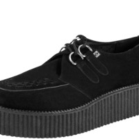Black Suede Mondo Creepers from T.U.K.