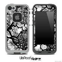 Oak Tree Greyscale Skin for the iPhone 5 or 4/4s LifeProof Case