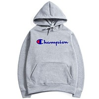 Champion flame men and women long sleeve sets I