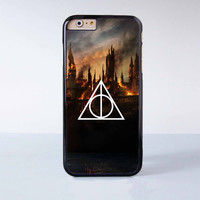 Harry Potter Death Hallows  Plastic Case Cover for Apple iPhone 6 6 Plus 4 4s 5 5s 5c