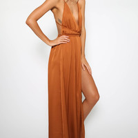 Lancaster Dress - Copper