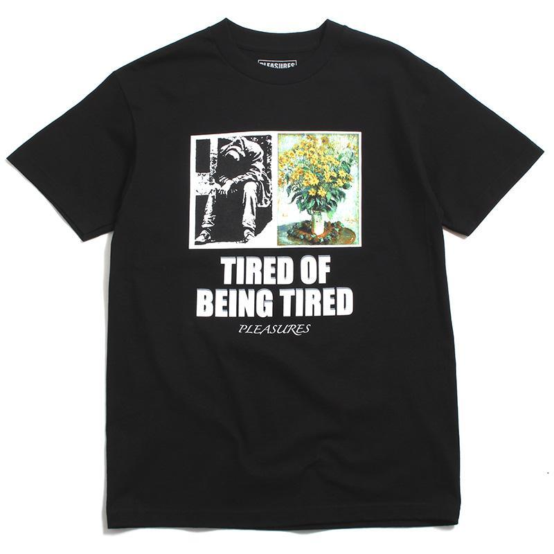 Image of Tired T-Shirt Black