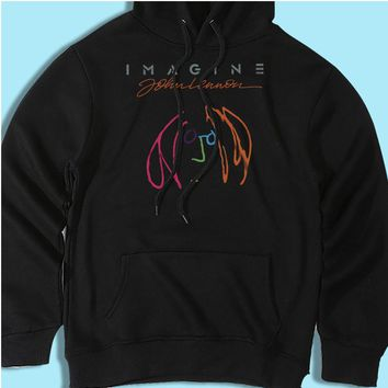 John Lennon Imagine The Beatles Men'S Hoodie