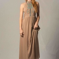 Caged Maxi Dress