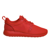 Nike Roshe Run Hyp University Red University Red M - Hers trainers