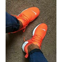 Nike Air Presto Woman Men Running Sneakers Sport Shoes F  Orange