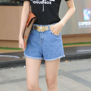 Summer Denim Shorts Ladies Jeans [10201395655]