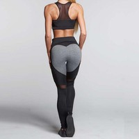 Magnetic Heart Form Leggings