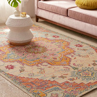 Crystal Floral Tufted Rug | Urban Outfitters