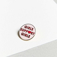 Daisy Natives Girls Support Girls Pin - Urban Outfitters