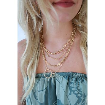 One For All Necklace - Gold