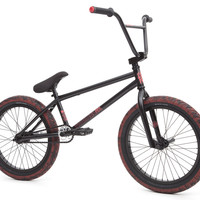 Fit Conway Savage 2 Complete Pro BMX Bike Black/Red Freecoaster