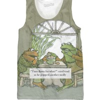 Frog And Toad Tank Top