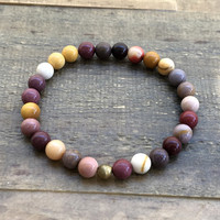 """Mookaite """"Forever Young"""" Bracelet"""