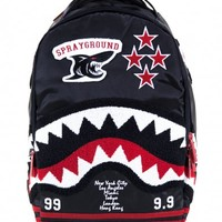 Varsity Shark Backpack | Sprayground Backpacks, Bags, and Accessories