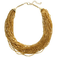 Short Beaded Necklace - from H&M