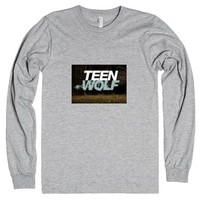 Teen Wolf Long Tshirt-Unisex Heather Grey T-Shirt