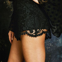 Stone Cold Fox || Scorpio Bloomers in black lace