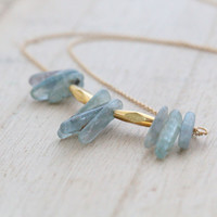 Kyanite Bib Necklace