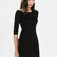 Black Sleeve Bodycon Dress