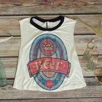 For The Love of Beer Women's Tank Top
