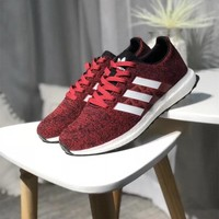 """""""Adidas"""" Unisex Sport Casual Knit Running Shoes Couple Fashion Sneakers"""