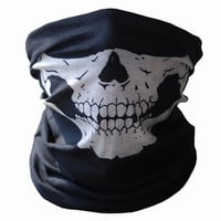 Skull Protective Dust Halloween Party Mask horror Bandana Motorcycle Polyester Scarf Face Neck Warmer mascara masquerade masks = 1958015876