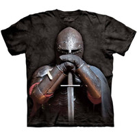 Medieval KNIGHT The Mountain Armor Sword Middle Ages Warrior T-Shirt S-3XL NEW