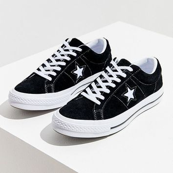 Converse One Star Suede Ox Sneaker   Urban Outfitters