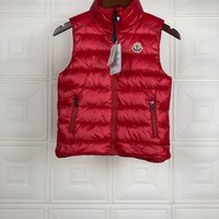 MONCLER Children's Wear Baby Down Coat Cardigan Jacket Windbreaker  Freestyle Vest
