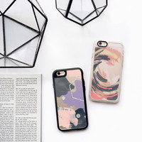 Colorful iPhone 6s & 6s Plus Case (Pink & Blue Swirl Pattern) by Casetify
