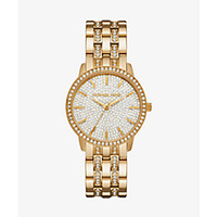 Mini Camille Gold-Tone Watch | Michael Kors