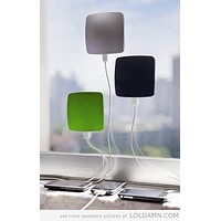 Window Stick Solar Power Bank. Phone Charger. USB Input. Compatible with all phones.
