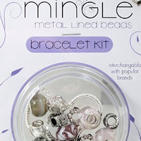 DARICE 1999-5282 Mix and Mingle Starter Jewelery Making Kit with Braclet and Beads Wedding