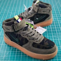 Nike Air Force 1 Jewel Mid Country Camo Fashion Shoes - Best Online Sale