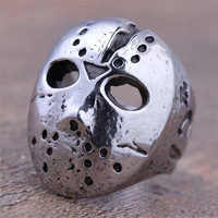 Hockey Mask Ring