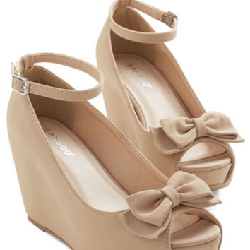 ModCloth Darling Pack on the Panache Wedge