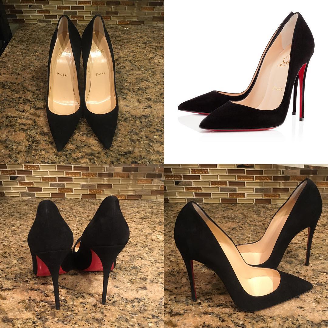 Image of {SC} Christian Louboutin 2021 New pointed high heels