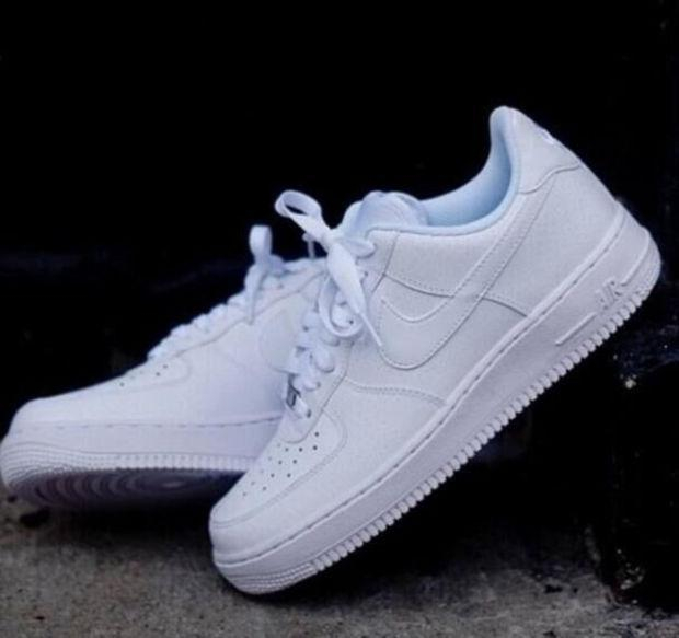 Image of Air force 1 NIKE Women Men Running Sport Casual Sneakers Shoes