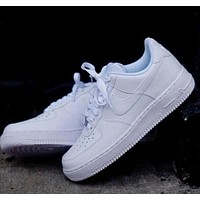 Air force 1 NIKE Women Men Running Sport Casual Sneakers Shoes