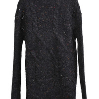 Colored Dots Knitted Pullover
