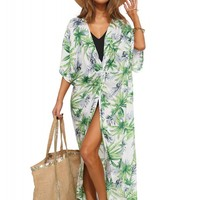 Palm Tree Resort Cover Up
