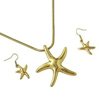 *[N/LS]-Goldtone Casting Star Fish